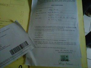 Ini berkas Paspor & Amplop Khususnya