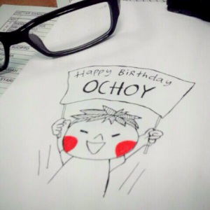 Happy Birthdau Ochoy