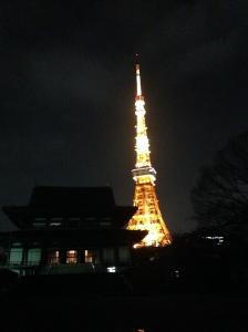 Ini kuil yang kami lalui ketika menuju Tokyo Tower