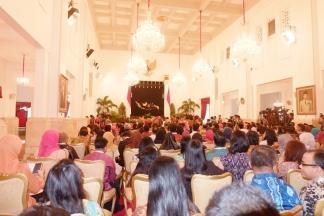 penampakan aula istana negara
