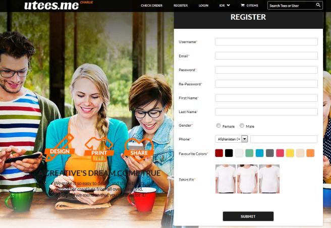 klik register, terus isi deh username dan lain-lain di form inni,kalo udah klik submit